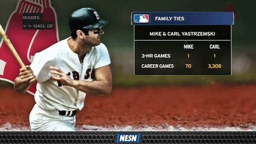 Carl, Mike Yastrzemski Both Have One Three-Home Run Game With One Major Difference