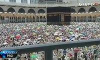 Haji 2019 - Jelang Kepulangan, Jemaah Haji Lakukan Tawaf Wada