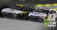 Hamlin passes DiBenedetto for Bristol win