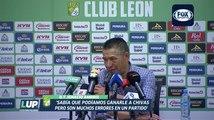 LUP: Nacho Ambriz en conferencia de prensa