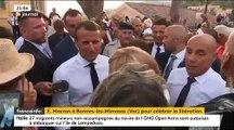 Le Président Emmanuel Macron appele les Français à se «réconcilier» après les «moments difficiles» des derniers mois - VIDEO