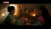 L'actrice de Mulan dans la tourmente