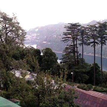 naini lake from hotel