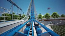 Orion On Ride POV Animation Kings Island NEW 2020