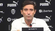 """Marcelino: """"Nos quedamos en un empate que nos sabe muy mal"""""""