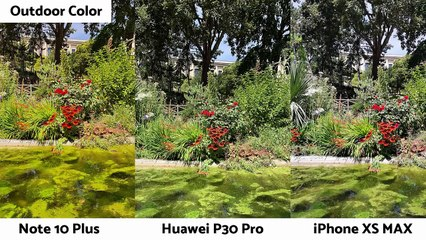 Samsung Galaxy Note 10 Plus vs Huawei P30 Pro vs Apple iPhone XS Max _ Camera Comparison