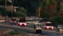Türkiye'den böyle görüntülendiler! 3 kamyonet dolusu terörist