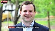 USA : Un millionnaire distribue son argent à des personnes dans le besoin (vidéo)