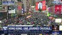 Plus de deux mois après le début du mouvement, le mouvement pro-démocratie de Hong Kong réunit une foule très dense