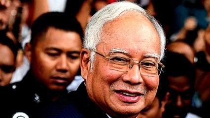 Former Malaysian PM Najib Razak in court for money laundering