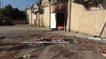 Συναγερμός από φωτιά σε παλιό εργοστάσιο.