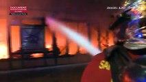 Hauts-de-Seine : Un incendie détruit le marché Henri-Barbusse à Levallois-Perret - Aucune victime - 90 personnes évacuées