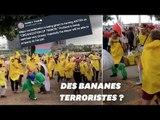 Pour Trump, ces militants déguisés en banane sont une menace terroriste