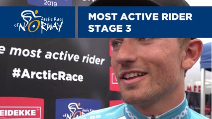 Most active rider - Stage 3 - Arctic Race of Norway 2019