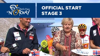 Official start - Stage 3 - Arctic Race of Norway 2019