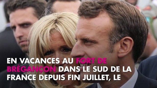 Brigitte Macron blessée : pourquoi est-elle apparue avec le bras en écharpe ?