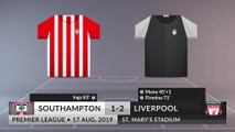 Match Review: Southampton vs Liverpool on 17/08/2019