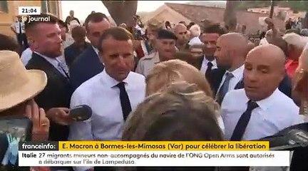 Le Président Emmanuel Macron appelle les Français à se «réconcilier» après les «moments difficiles» des derniers mois