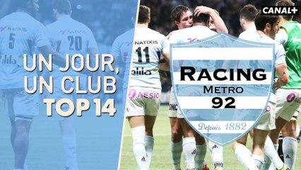 Top 14 - Un jour, un club - Racing 92