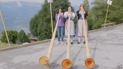 البوق الألبي في تقاليد الثقافة السويسرية