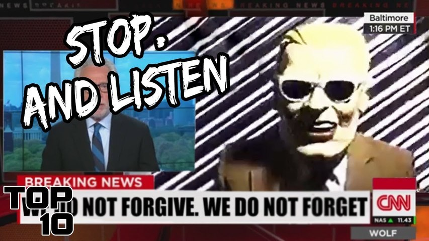Top 10 Mysterious Live Broadcast Interruptions