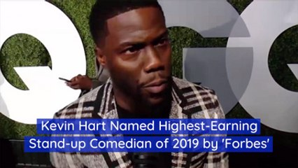 Kevin Hart Makes People Laugh For A Lot Of Money