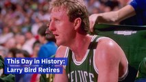 Larry Bird's Retirement From the NBA