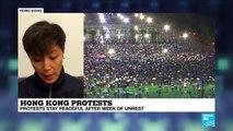 "Pop-star Denise Ho: ""We are not divided"""
