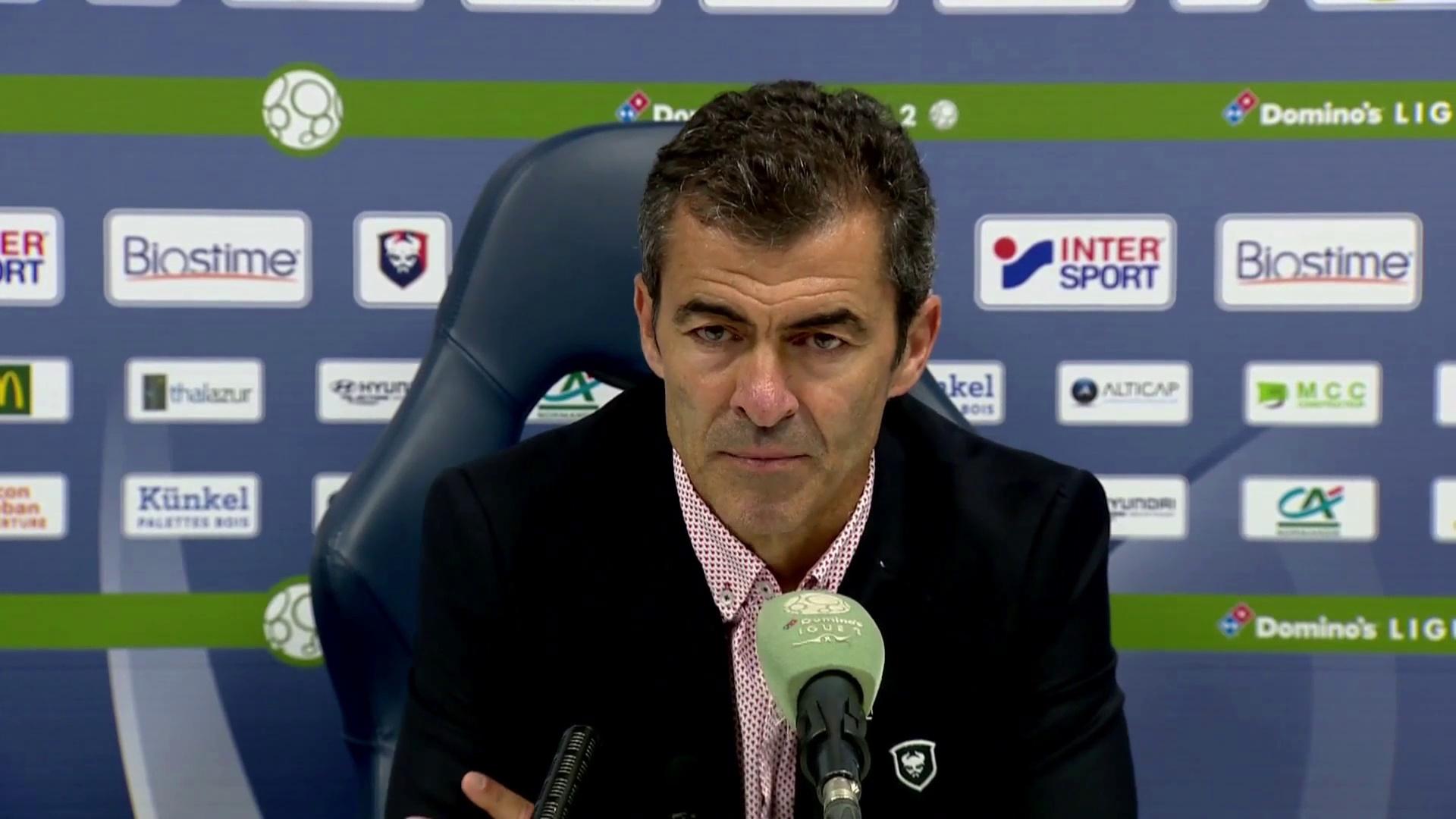 Conférence de presse de Rui Almeida après SMCaen / FC Chambly