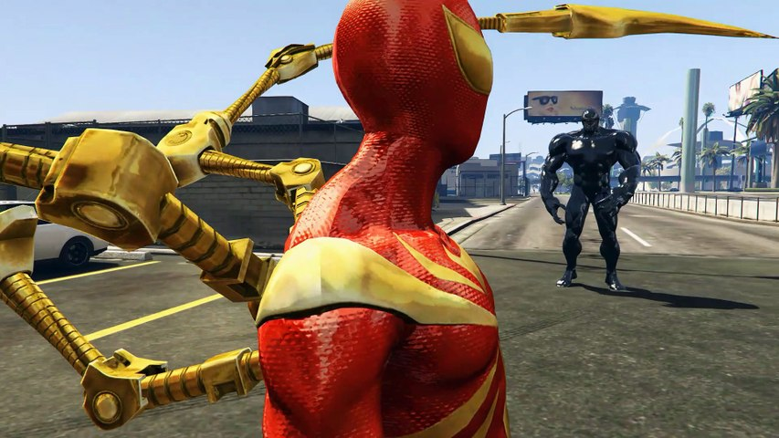 Spider-Man VS Venom - Epic Battle (GTA 5)