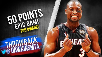 The EPiC Game Dwyane Wade Scored 50 To Become Heat's All-Time Scoring Leader! _ FreeDawkins