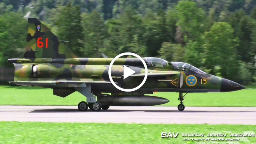 |Zigermeet 2019| Saab Sk 37E Viggen - Swedish Air Force