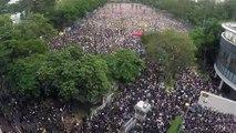Mais protestos em Hong Kong