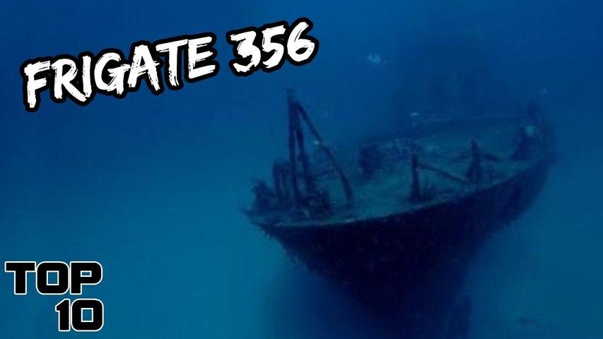 Top 10 Scary Sunken Ships