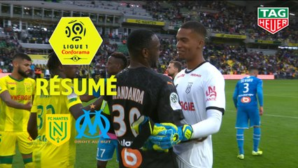FC Nantes - Olympique de Marseille (0-0)  - Résumé - (FCN-OM) / 2019-20
