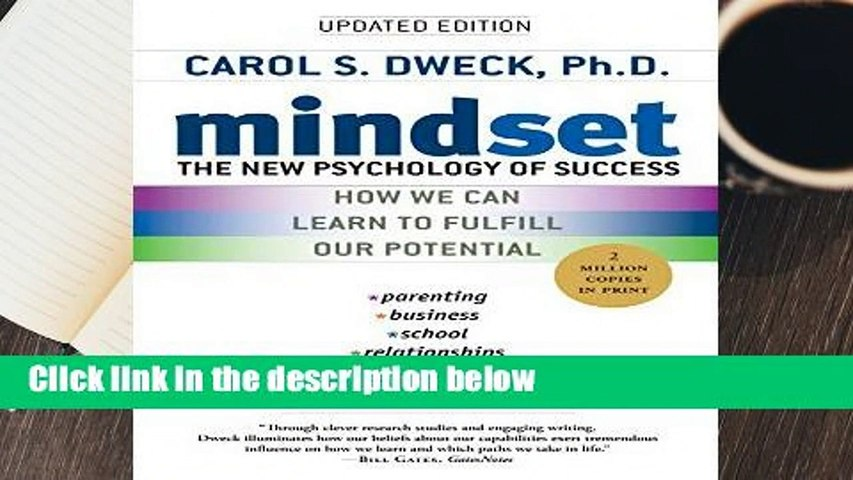 About For Books  Mindset: The New Psychology of Success  Review