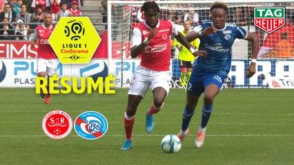 Stade de Reims - RC Strasbourg Alsace (0-0)  - Résumé - (REIMS-RCSA) / 2019-20