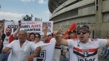 Expectación por debut de Dani Alves y Juanfran en el Sao Paulo