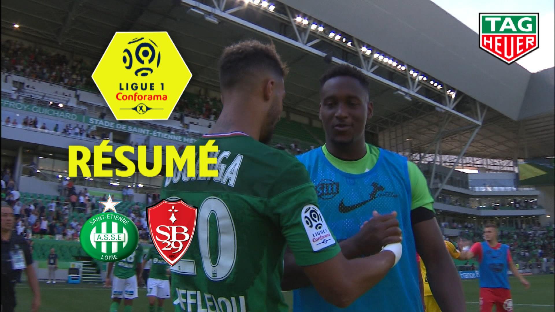 AS Saint-Etienne - Stade Brestois 29 (1-1)  - Résumé - (ASSE-BREST) / 2019-20