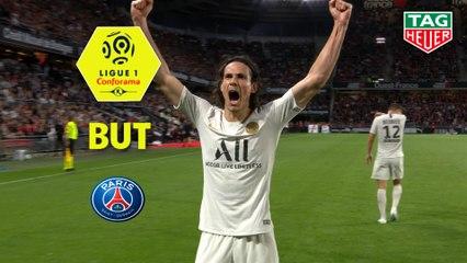 But Edinson CAVANI (36ème) / Stade Rennais FC - Paris Saint-Germain - (2-1) - (SRFC-PARIS) / 2019-20