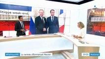 Politique : une rentrée diplomatique sous tension pour Emmanuel Macron