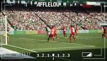 ASSE 1-1 Brest : le but de Denis Bouanga vu du bord terrain