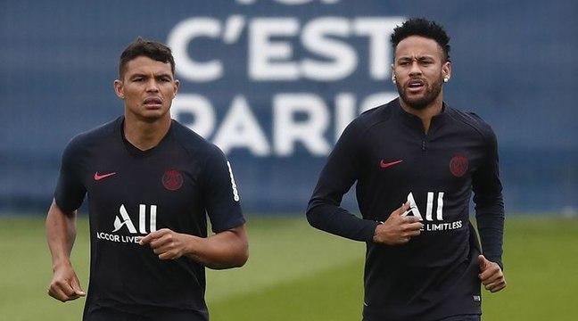 """Thiago Silva : """"mon sentiment c'est que Neymar va rester"""""""