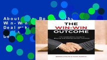 About For Books  The Win-Win Outcome: The Dealmaker s Guide to Buying and Selling Dental