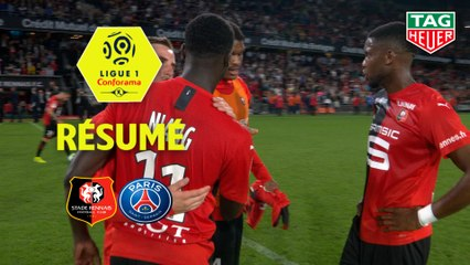 Stade Rennais FC - Paris Saint-Germain (2-1)  - Résumé - (SRFC-PARIS) / 2019-20