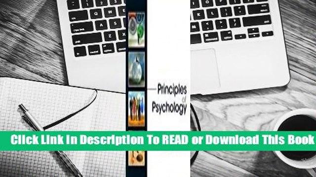 Online Principles of Psychology  For Online