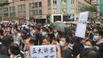 Twitter dice que China organizó campaña para deslegitimar protestas Hong Kong
