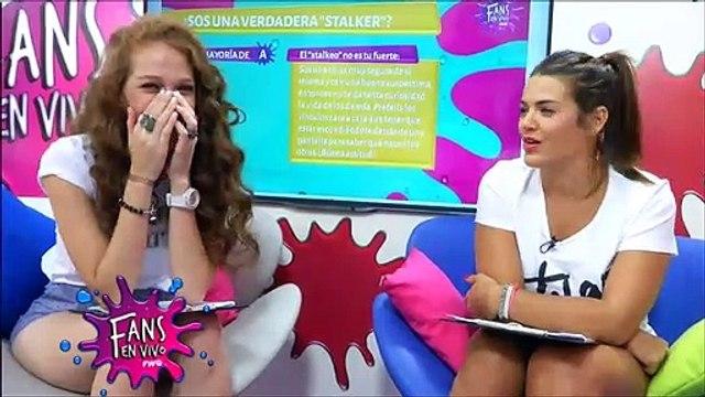 """Fans en Vivo #23 - Blooper Jenny se ríe de Mica, Coco: """"la gente no entiende nada"""""""