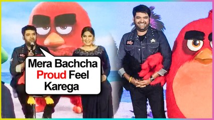 Kapil Sharma FUNNY REACTION On His First BABY | Angry Birds Event