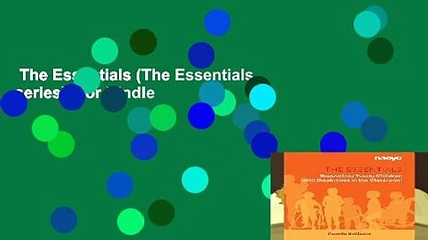 The Essentials (The Essentials series)  For Kindle